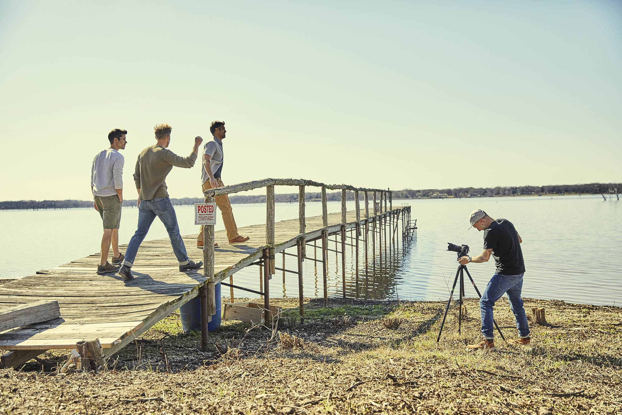 Guys-Camping-Trip_Lake-Tawakoni_Shoot-BTS_005